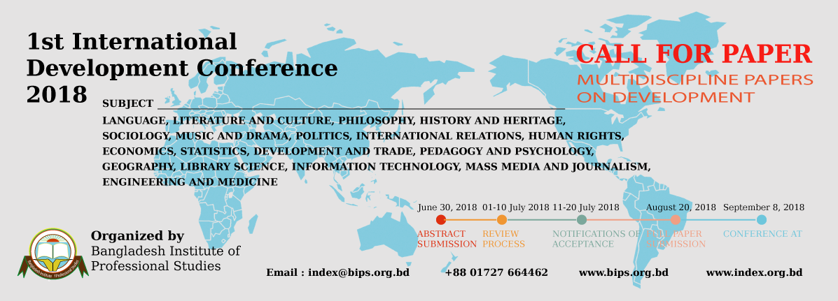BIPS International Development Conference 2018